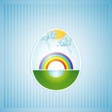 Un huevo de Pascua, vector Imágenes de archivo libres de regalías