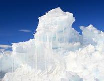 Un hummock del ghiaccio Fotografie Stock