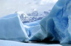 Un iceberg dans le Patagonia Images libres de droits