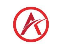 Un'icona di Logo Business Template Vector della lettera Immagini Stock