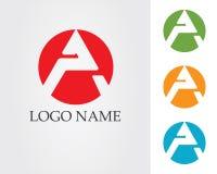 Un'icona di Logo Business Template Vector della lettera Immagini Stock Libere da Diritti