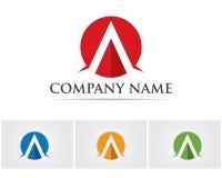 Un'icona di Logo Business Template Vector della lettera Fotografie Stock Libere da Diritti