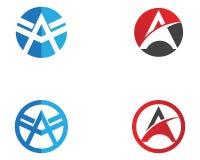 Un'icona di Logo Business Template Vector della lettera Fotografia Stock