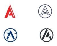 Un'icona di Logo Letter Business Template Vector Immagini Stock