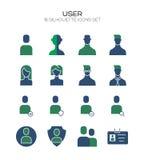 Un'icona di 20 utenti illustrazione vettoriale