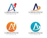 Un icono de Logo Business Template Vector de la letra Fotos de archivo