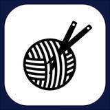 Un icono para las mercancías hechas a mano Fotos de archivo