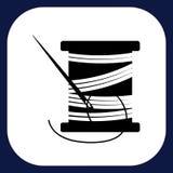 Un icono para las mercancías hechas a mano Imagen de archivo libre de regalías