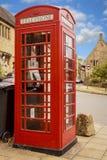 Un icono rojo británico Imágenes de archivo libres de regalías