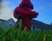 Un idrante antincendio Fotografia Stock Libera da Diritti