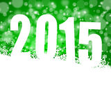un'illustrazione da 2015 nuovi anni Fotografia Stock