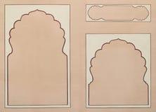 Un'illustrazione dei tre blocchi per grafici Fotografia Stock