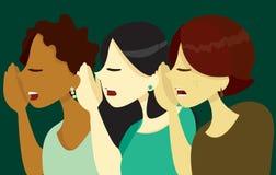 Pettegolezzo delle donne Fotografia Stock Libera da Diritti