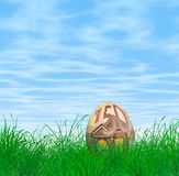 Uovo di Pasqua Dell'euro 50 Fotografie Stock Libere da Diritti