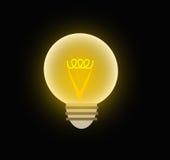 Un'illustrazione di una lampadina Royalty Illustrazione gratis