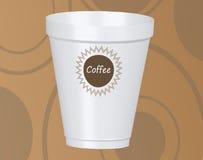 Un'illustrazione di vettore della tazza di caffè Fotografie Stock Libere da Diritti