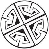 Un'illustrazione di vettore di un reticolo celtico Immagine Stock