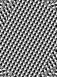 Un'illustrazione digitale delle frecce come illusione ottica per fondo o la carta da parati Fotografie Stock Libere da Diritti