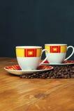Un'immagine del caffè di amore Fotografia Stock
