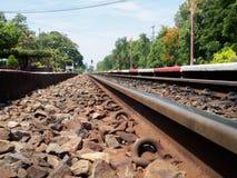 Un'immagine della stazione ferroviaria di Hua Hin in Tailandia Fotografia Stock