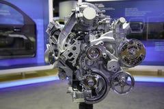 Motore di EcoTec3 4.3-Liter V-6 Fotografia Stock Libera da Diritti