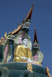 Statua di Buddha - Monywa - Myanmar Fotografie Stock