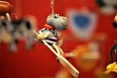 Un'immagine di concetto di un giocattolo tradizionale, bambini, presenti immagine stock