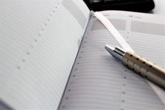 Un'immagine di concetto di un programma - pianificatore - con lo spazio della copia immagine stock