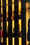 Scaffale del vino immagini stock