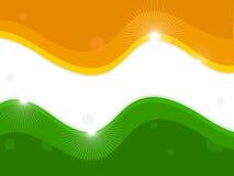 Un indicateur national indien. illustration de vecteur