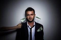 Un individuo en un juego Foto de archivo libre de regalías