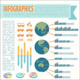 Un infographics Photographie stock libre de droits
