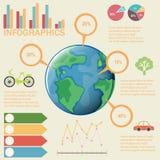 Un infographics colourful royalty illustrazione gratis