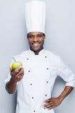 Un ingrédient important pour la salade de fruits Photo stock