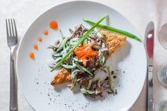 Un'insalata deliziosa Immagini Stock Libere da Diritti