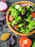 Un'insalata della verdura fresca Fotografia Stock