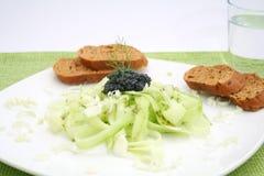 Un'insalata fresca Fotografie Stock