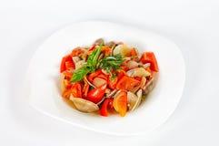 Un'insalata sana Fotografia Stock