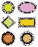 Timbro di gomma Fotografia Stock