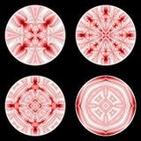 Un insieme degli elementi del cerchio di progettazione Fotografia Stock Libera da Diritti