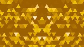Un insieme dei triangoli e delle forme è muoventesi e cambiante i colori Blocchetto riflettente casuale tridimensionale del calei royalty illustrazione gratis