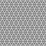 Un insieme di 16 ambiti di provenienza senza cuciture con le forme geometriche decorative Fotografia Stock