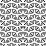 Un insieme di 16 ambiti di provenienza senza cuciture con le forme geometriche decorative Immagine Stock Libera da Diritti