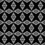 Un insieme di 16 ambiti di provenienza senza cuciture con le forme geometriche decorative Fotografie Stock Libere da Diritti