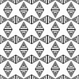 Un insieme di 16 ambiti di provenienza senza cuciture con le forme geometriche decorative Immagini Stock Libere da Diritti
