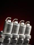 Un insieme di nuove candele dell'automobile Immagine Stock Libera da Diritti