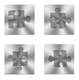 Insieme di puzzle Immagine Stock Libera da Diritti
