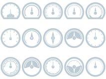 Icona piana del tachimetro tachimetro variopinto del segno for Piani del giroletto in stile missione