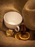 Un insieme di tè pronto per usare Fotografie Stock Libere da Diritti