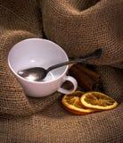 Un insieme di tè pronto per usare Fotografie Stock